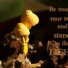 Be true to yourself... card  by steppeland