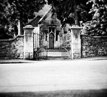 Spooky entrance  by Sharonroseart