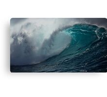 Raw power of Pacific Canvas Print