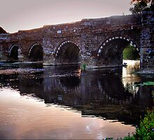White Mill Bridge-Dorset by naturelover