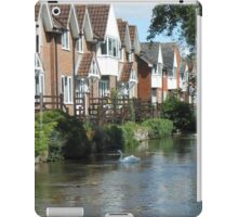 Riverside living iPad Case/Skin