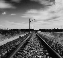 Lines to nowhere by Matt Sillence