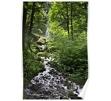 Wahkeena Falls, Oregon - Columbia River Gorge Poster