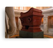 Napoleon's Tomb Canvas Print