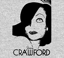 Joan Crawford Contrast Art Unisex T-Shirt