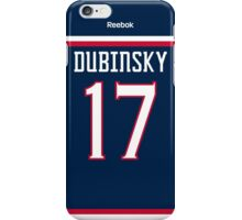 Columbus Blue Jackets Brandon Dubinsky Jersey Back Phone Case iPhone Case/Skin