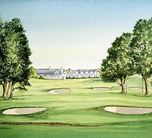 Southern Hills Golf Course 18th Green by bill holkham