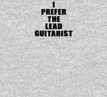 I Prefer The Lead Guitarist - Guitar Band T-Shirt Women's Fitted Scoop T-Shirt