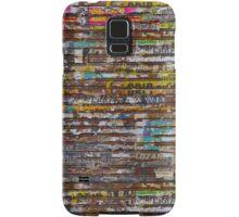 Scratched advertising Samsung Galaxy Case/Skin