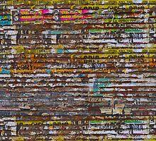 Scratched advertising by Atanas Bozhikov NASKO