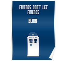 Friends Series - Doctor Who Poster
