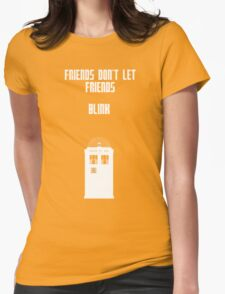 Friends Series - Doctor Who Womens Fitted T-Shirt