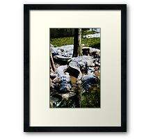 We're Waiting For You Framed Print