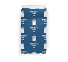 Friends Series - Doctor Who Duvet Cover