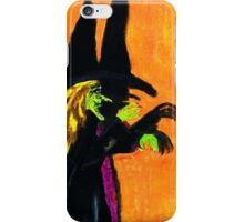 WITCH AND HER SHADOW iPhone Case/Skin