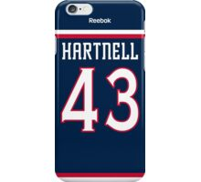 Columbus Blue Jackets Scott Hartnell Jersey Back Phone Case iPhone Case/Skin