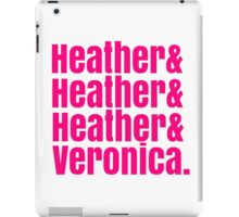 Heathers Hot Pink Design iPad Case/Skin