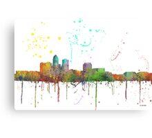 Des Moines, Iowa Skyline Canvas Print
