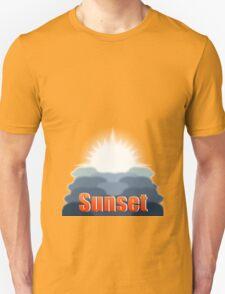 Day to Night (Sunset) Unisex T-Shirt