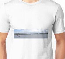 Waterworks on the River Foyle, Derry, Ireland Unisex T-Shirt