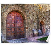 Castle Winery Doors Poster
