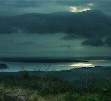 Stormy Bar Harbor by Lori Deiter