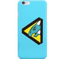 Dino Charge/Kyoryuger Aqua/Cyan iPhone Case/Skin