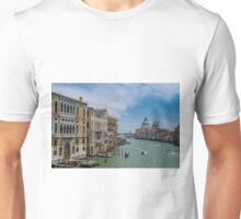 View from the Accademia Bridge, Venice Unisex T-Shirt