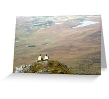 Mountain People Greeting Card