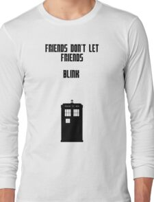 Friends Series - Doctor Who: Inverted Long Sleeve T-Shirt