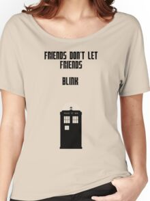 Friends Series - Doctor Who: Inverted Women's Relaxed Fit T-Shirt