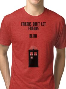 Friends Series - Doctor Who: Inverted Tri-blend T-Shirt