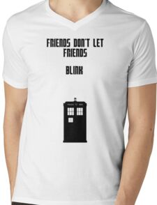 Friends Series - Doctor Who: Inverted Mens V-Neck T-Shirt