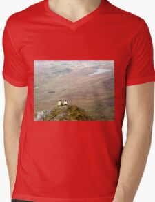 Mountain People Mens V-Neck T-Shirt