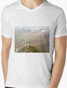 Mountain People Mens V-Neck T-Shirt