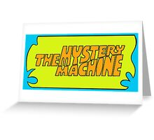 The Mystery Machine Greeting Card