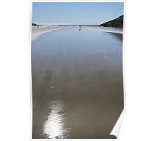 At Long Beach, Pacific Rim National Park Poster