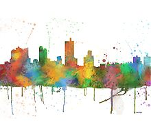 Fort Worth, Texas Skyline Photographic Print