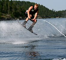 Wakeboarding by Larry Trupp