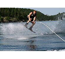 Wakeboarding Photographic Print