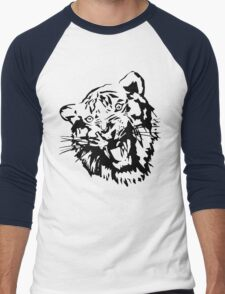 Tiger Men's Baseball ¾ T-Shirt