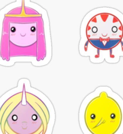 AT - Chibi Characters - Set 2 Sticker