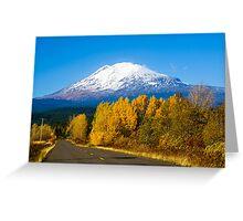 Mount Adams in Autumn Greeting Card