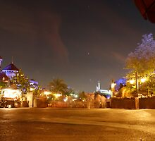 Fantasyland At Night by Aut78