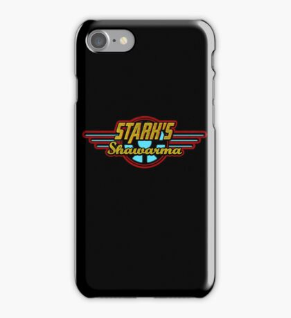 Stark's Shawarma iPhone Case/Skin