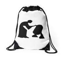 Help me Obi Wan Drawstring Bag