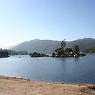 Big Bear Lake in Winter by Missy Yoder