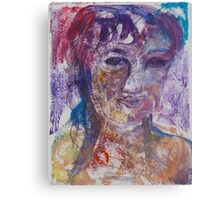 Andalusia Girl, II Canvas Print
