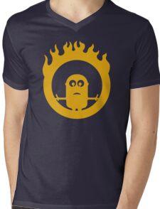War Minions Mens V-Neck T-Shirt