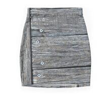Woody Slant Mini Skirt